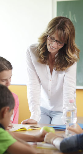 image of student teacher for learning project skills
